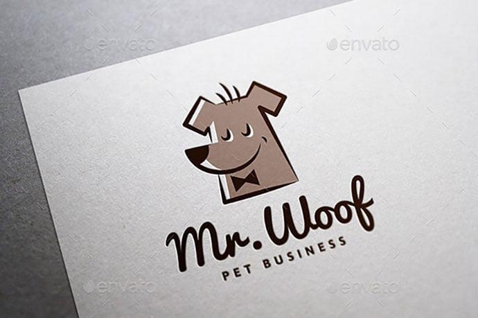 Mr.Woof_ - 32+ Amazing Personal Logo Design Templates [year]
