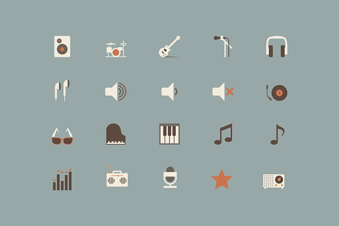 Music-Color-Icons - 35+ Best Music & Sound Icon Sets [year]