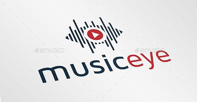 Music-Eye-Logo - 35+ Awesome Eye Logo Design Templates [year]