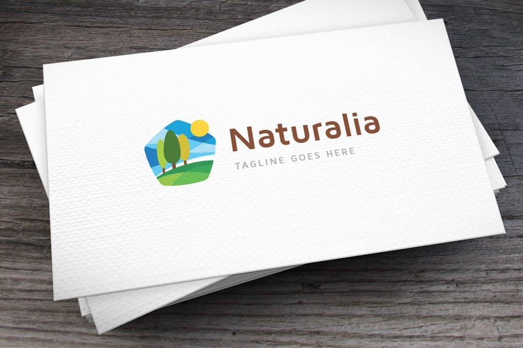 Naturalia - 60+ Strong Tree Logo Design Templates [year]