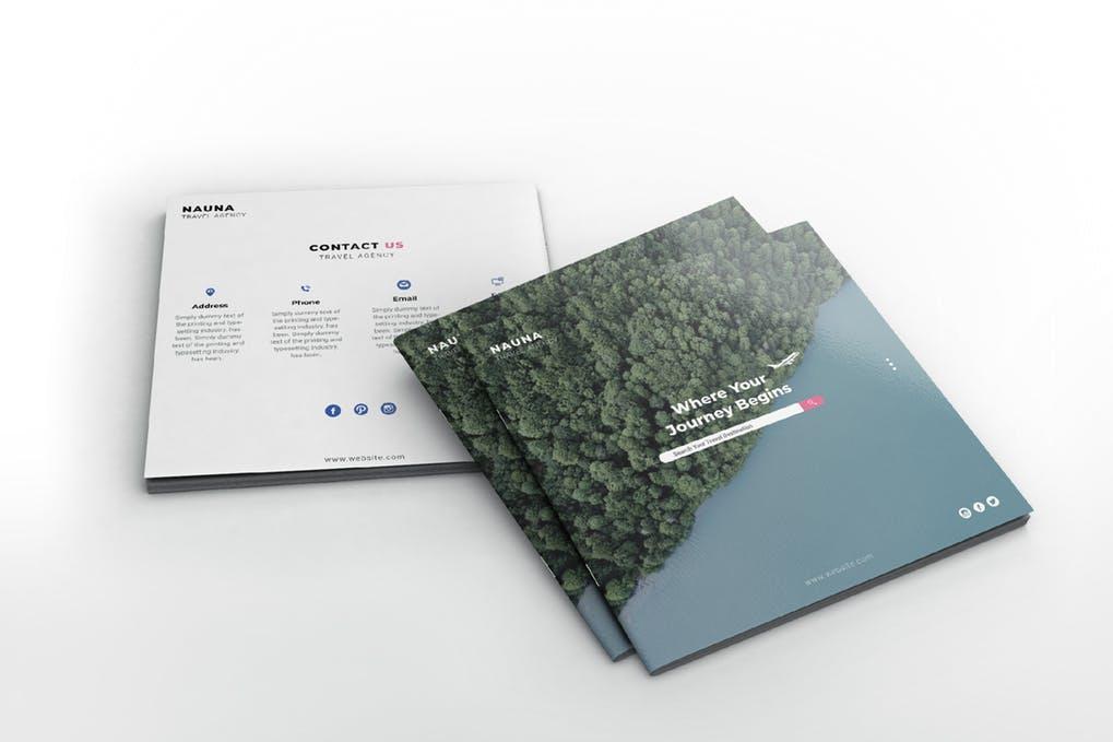 Nauna-1 - 35 + Calm PSD & InDesign Travel Brochure Templates [year]