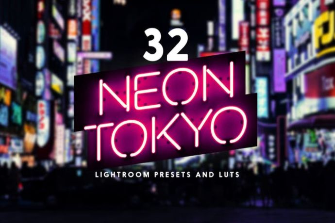 Neon-Tokyo - 75+ Awesome Lightroom Creative Digital Photography [year]