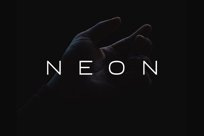 Neon - 35+ Effective Fonts for Brochure Design [year]