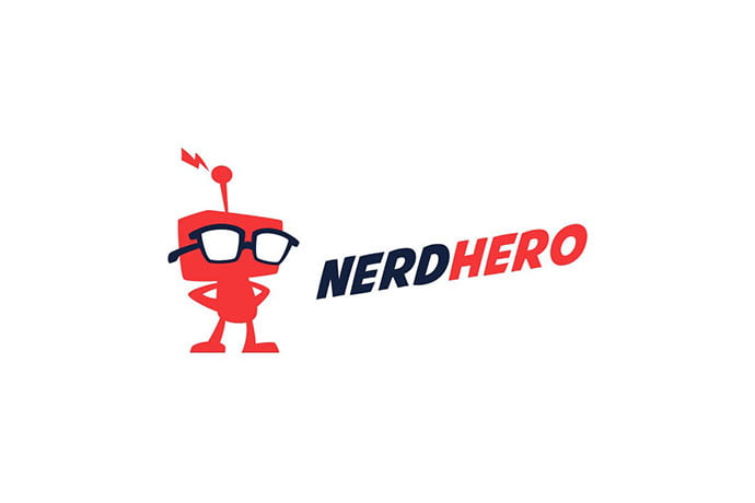 NerdHero - 32+ Amazing Personal Logo Design Templates [year]