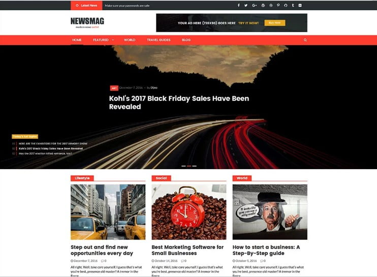 Newsmag-PRO-2 - 46+ Best WordPress Newspaper Themes for News Sites [year]