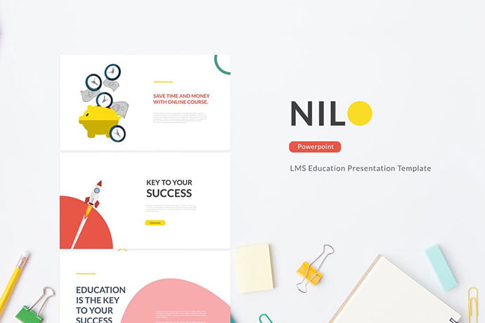 Nilo - 30+ PowerPoint Templates for School or College [year]