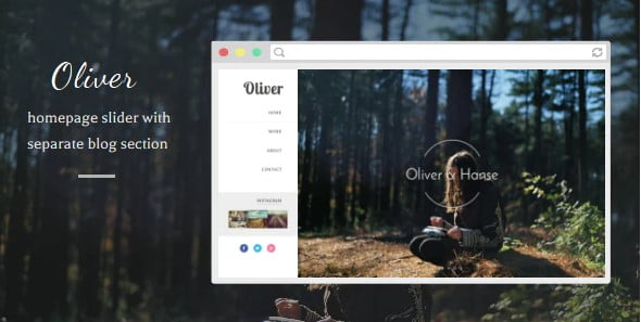 Oliver-1 - 35+ Amazing One Page Inventive Blogger Template [year]