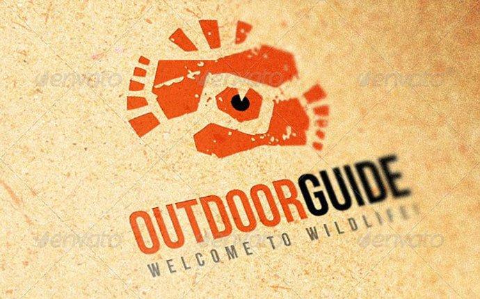 Outdoor-Guide-Creative - 35+ Awesome Eye Logo Design Templates [year]
