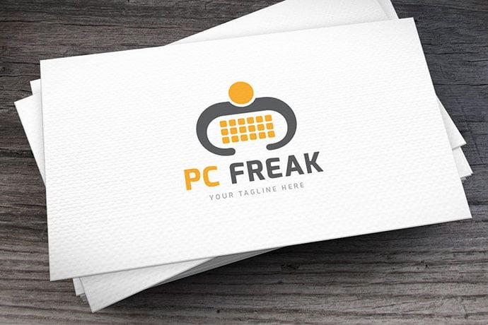 PC-Freak - 32+ Amazing Personal Logo Design Templates [year]