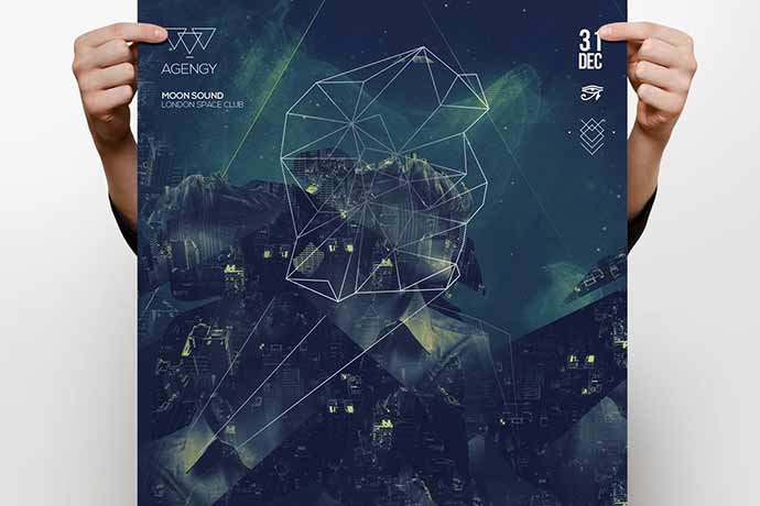 PSD-Flyer-Design-Templates-1 - 35+ Attractive Double Exposure PSD Flyer Design [year]