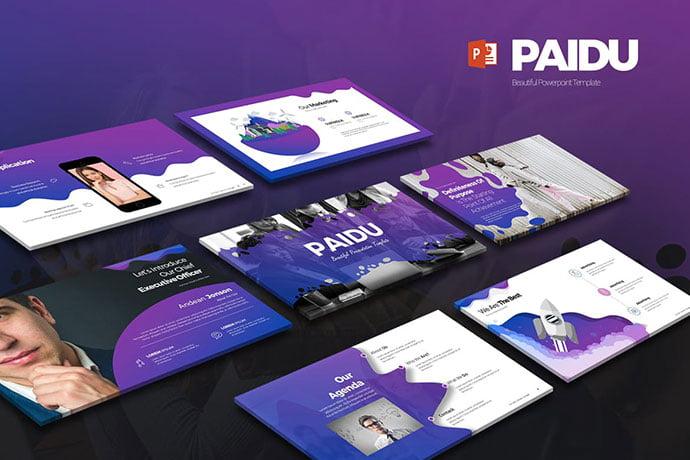 Paidu - 35+ Blast of Bright PowerPoint Templates [year]