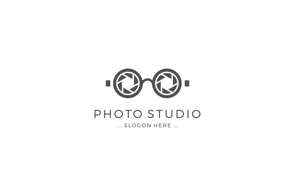 Photo-Studio-Logo - 35+ Awesome Eye Logo Design Templates [year]