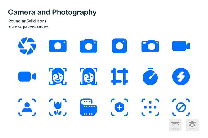 Photography-Icon-Sets - 35+ Stunning Photography Icon Sets [year]
