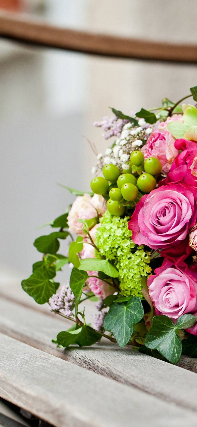 Pink-Flowers-Bouquet-Leaves-Roses-1080x2340-768x1664 - 51+ BEST Free vivo Z1 Pro Phone Wallpapers [year]