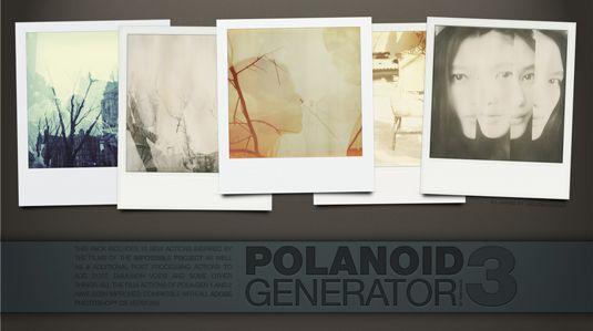 Polanoid-Generator-3 - 64+ FREE Amazing Photoshop Actions [year]