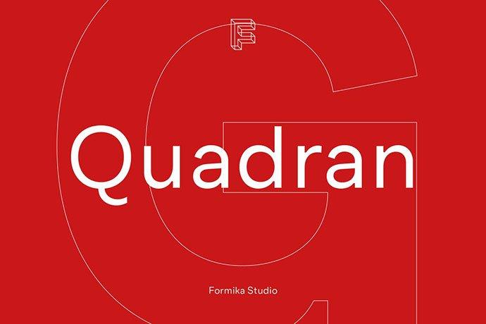 Quadran - 35+ Effective Fonts for Brochure Design [year]