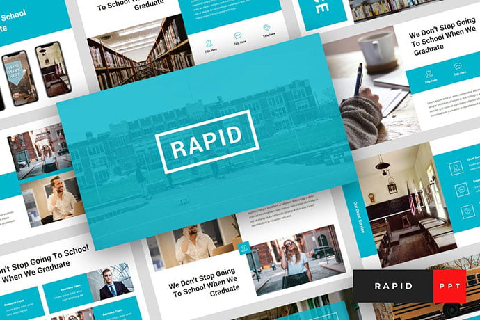Rapid - 30+ PowerPoint Templates for School or College [year]
