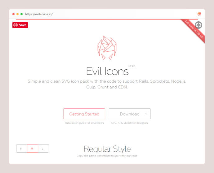 React-Evil-Icons - 25+ Best Free Necessary React Icon Components [year]
