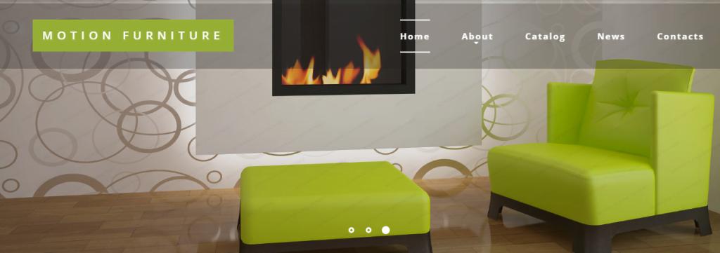 Reclining-Furniture - 60+ HTML Interior & Furniture Website Templates [year]