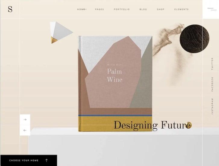 Sahel - 38+ Shiny WordPress Themes for Designers [year]