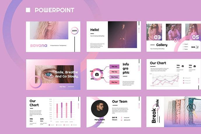 Savana - 35+ Blast of Bright PowerPoint Templates [year]