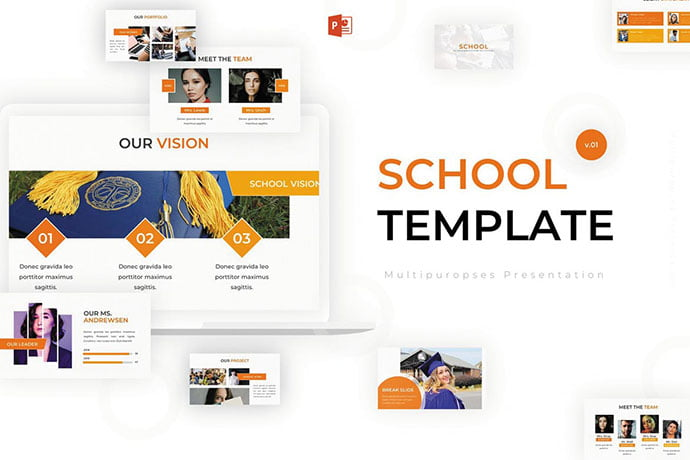 School - 30+ PowerPoint Templates for School or College [year]