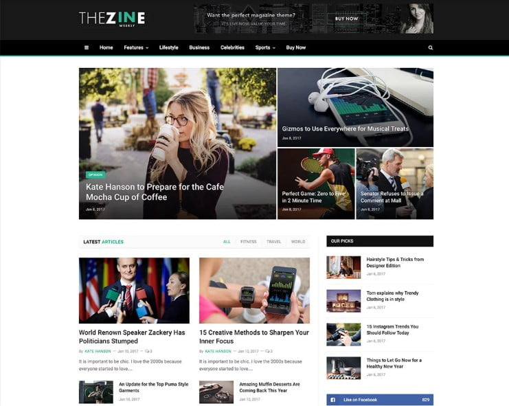 SmartMag - 46+ Best WordPress Newspaper Themes for News Sites [year]