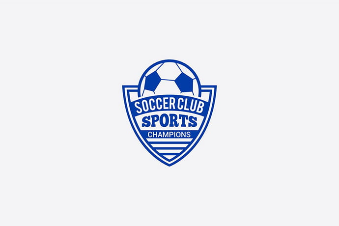Soccer-Club - 35+ Amazing Heraldry Logo Design Templates [year]