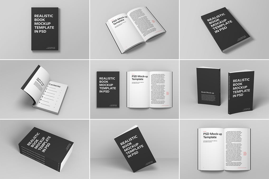 Soft-Cover-Book-Mockup - 35+ PSD Book Cover Mockup Templates