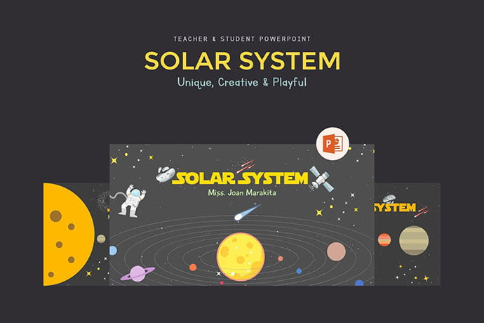 Solar-System - 30+ PowerPoint Templates for School or College [year]