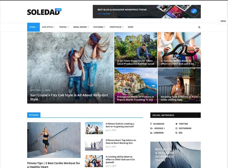 Soledad-1 - 46+ Best WordPress Newspaper Themes for News Sites [year]