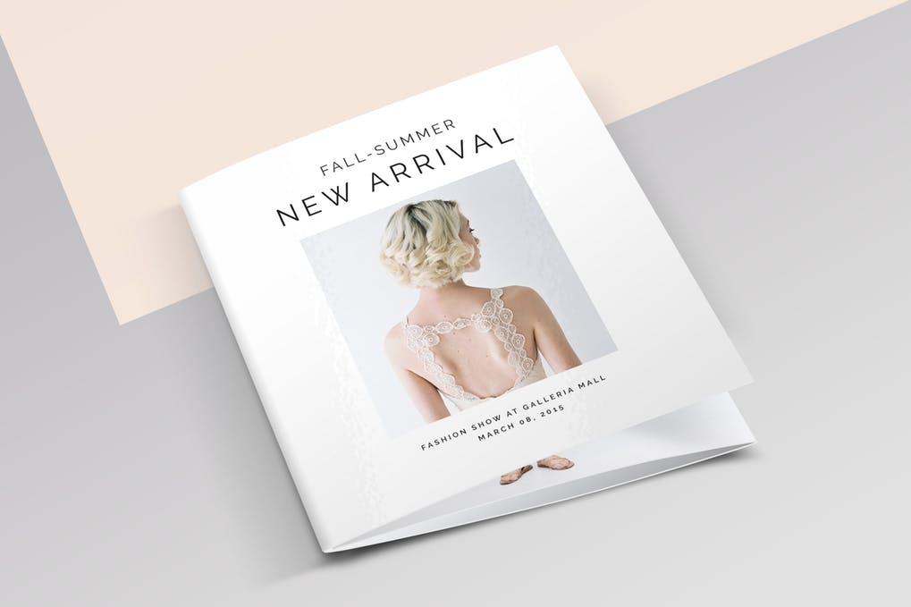 Square-3-Fold-Fashion-Brochure - 60+ Bi-fold & Tri-fold Brochure Design Templates [year]