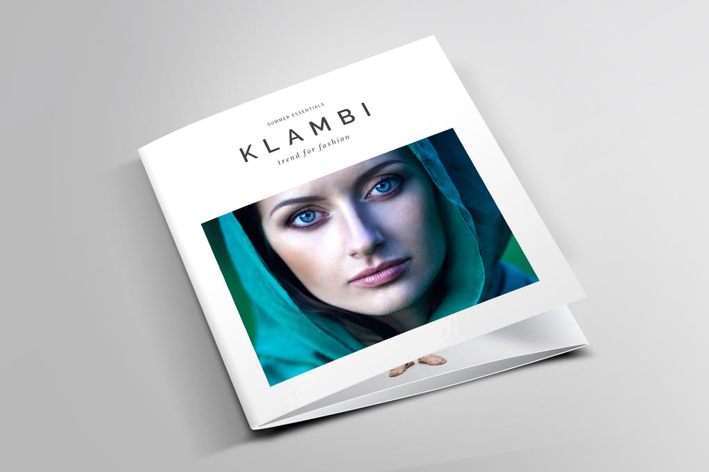 Square-Tri-Fold-Fashion-Brochure - 60+ Bi-fold & Tri-fold Brochure Design Templates [year]