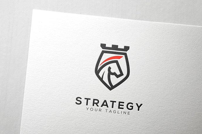 Strategy-Logo - 35+ Amazing Heraldry Logo Design Templates [year]
