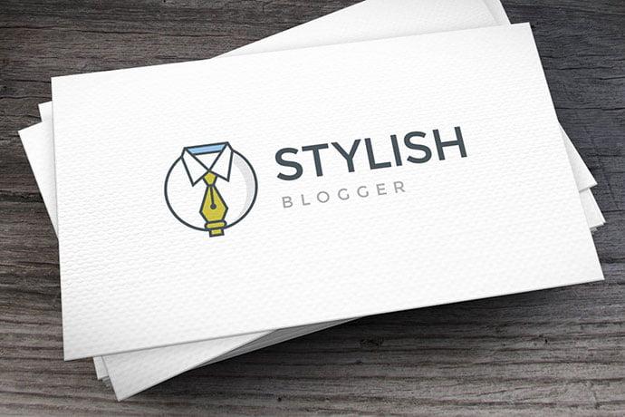 Stylish-Blogger - 32+ Amazing Personal Logo Design Templates [year]