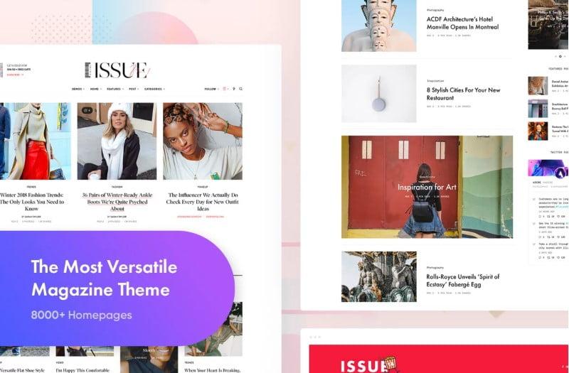 The-Issue-1 - Top 60+ News Magazine WordPress Themes [year]