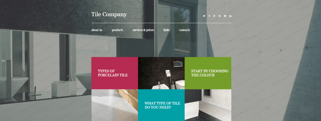 Tiless - 60+ HTML Interior & Furniture Website Templates [year]