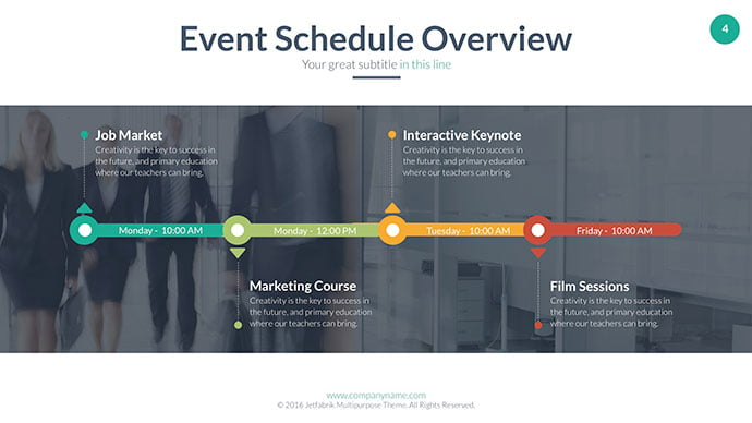 Timeline-PowerPoint-Templates - 30+ Wonderful Timeline PowerPoint Templates [year]