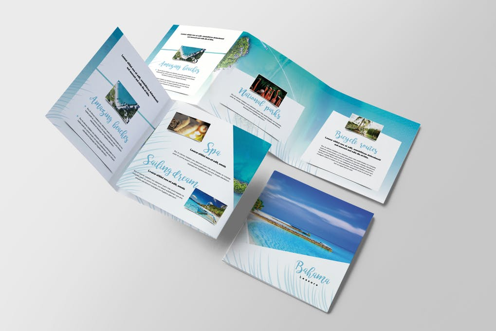 Travel-Tropical-Brochure - 35 + Calm PSD & InDesign Travel Brochure Templates [year]