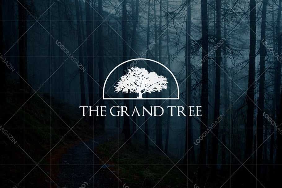 Tree - 60+ Strong Tree Logo Design Templates [year]