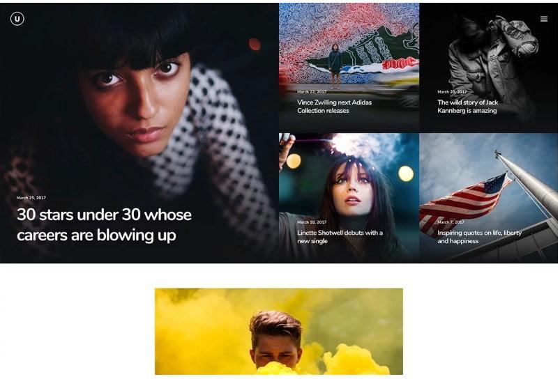 Uncode-1 - Top 60+ News Magazine WordPress Themes [year]
