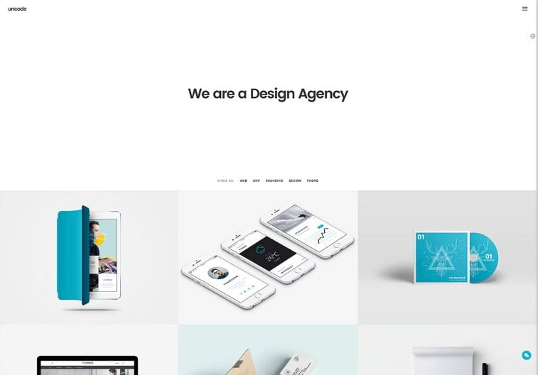 Uncode - 38+ Shiny WordPress Themes for Designers [year]