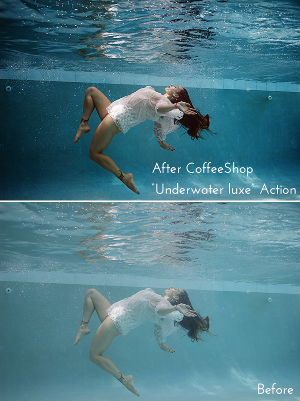 Underwater-Luxe - 64+ FREE Amazing Photoshop Actions [year]