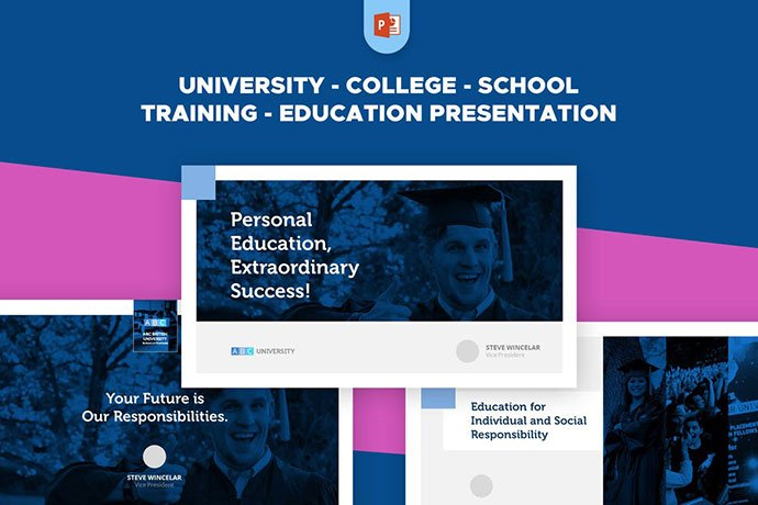 University-School-College-Training-Education-PPT - 30+ PowerPoint Templates for School or College [year]