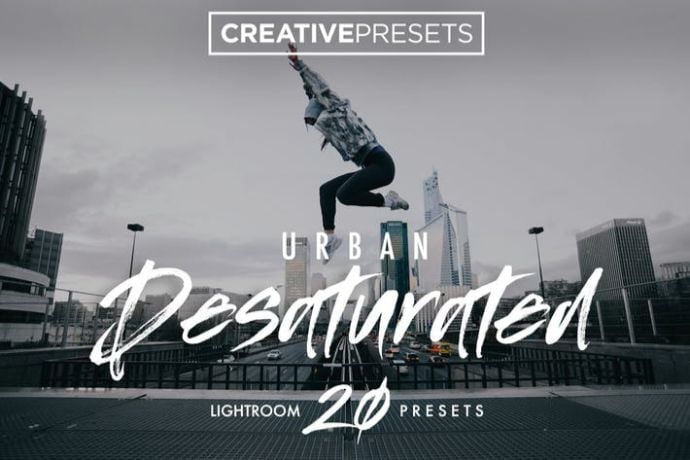 Urban-Desaturated-Lightroom-Presets - 75+ Awesome Lightroom Creative Digital Photography [year]
