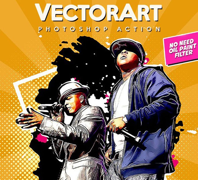 VectorArt - 30+ Amazing Portrait Photoshop Actions [year]