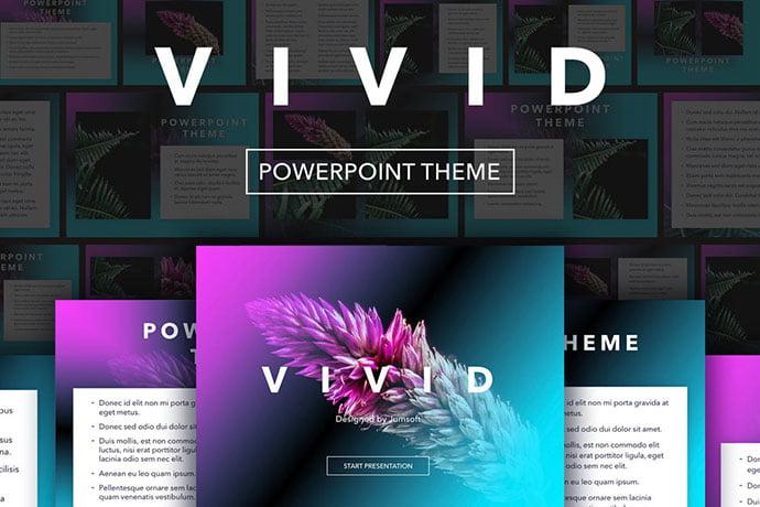 Vivid - 35+ Blast of Bright PowerPoint Templates [year]