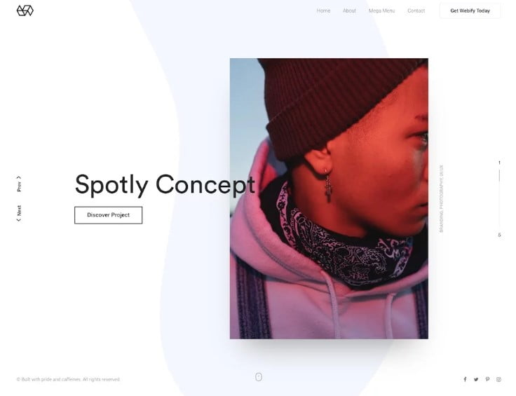 Webify - 38+ Shiny WordPress Themes for Designers [year]