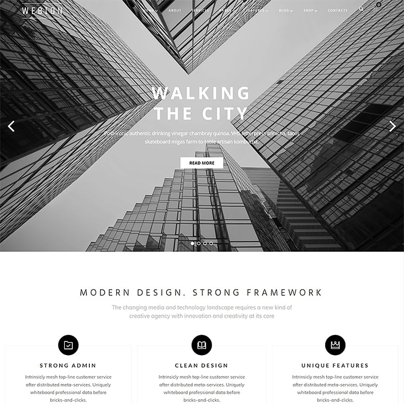 Webion-Minimal-Elementor-Multipurpose-WordPress-Theme - 10+ Best WordPress Blog Themes For Your Website [year]