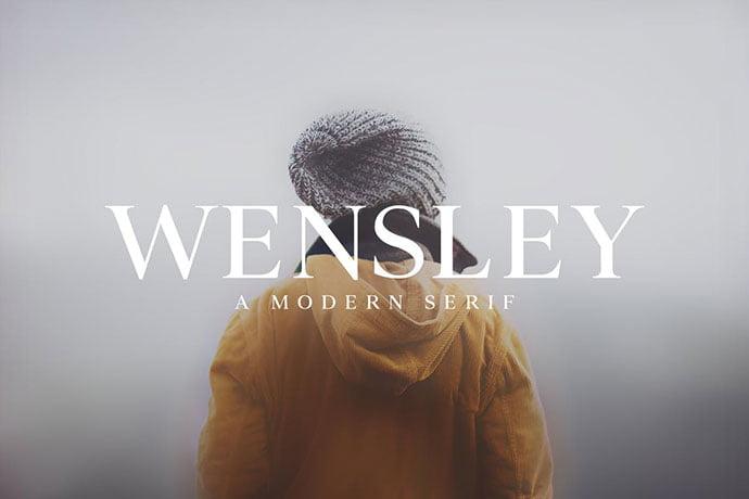 Wensley-Modern-Serif-Font-Family - 35+ Effective Fonts for Brochure Design [year]